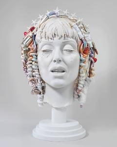 Audrey Flack: Self-Portrait as St. Teresa