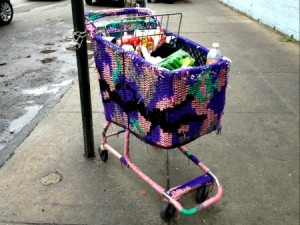 Olek (?): Shopping Cart