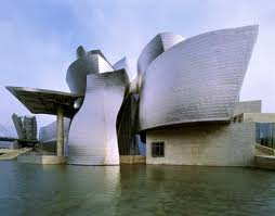 Frank Gehry's Bilbao Guggenheim.