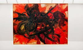Kazuo Shiraga, Work II, 1958l.