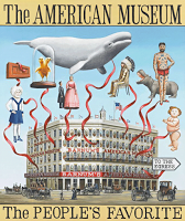 Poster for P.T. Barnum's American Museum NYC. c.1856.