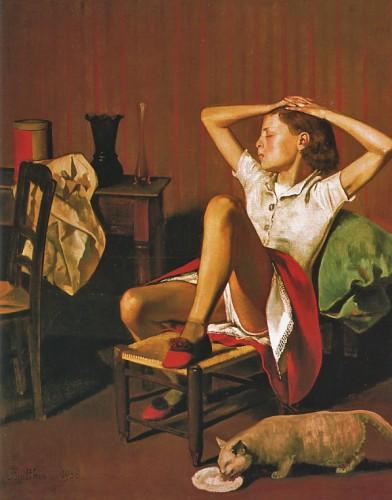 Balthus; Thérèse Dreaming.1933