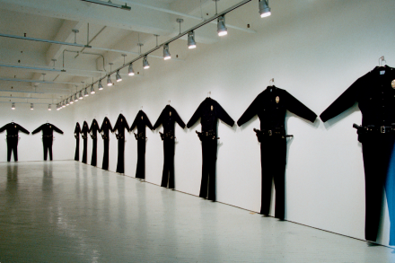 LAPD Uniforms, 1993. New Museum