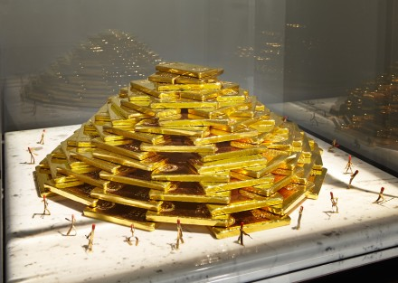 Tower of Power, 1985. $4 million in gold.