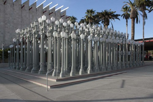 Urban Light, 2008. LACMA