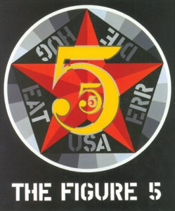 The Figure Five, 1963. Smithsonian Museum. Copyright 2013 Morgan Arts Foundation/Artists Rights Society, NY