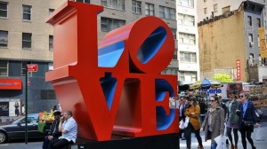 Robert Indiana, LOVE, n.d.