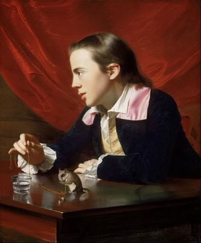 John Singleton Copley: Boy with Flying Squirrel (1765)