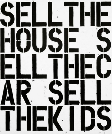 Christopher Wool: Pulling the Wool Over Your Eyes