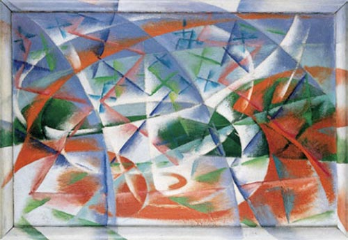 Giacomo Balla, Abstract Speed and Sound, 1913-14.