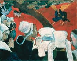 """Vision After The Sermon,"" Paul Gauguin, 1888."