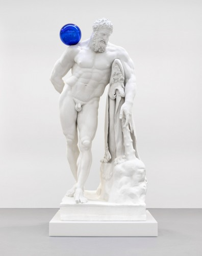 """Gazing Ball (Farnese Hercules),"" 2013."