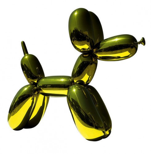 """Balloon Dog (Yellow),"" 1994-2000."