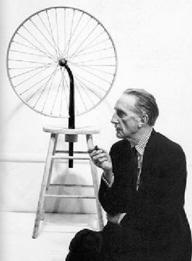 duchamp w bicycle whl