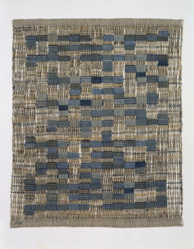 "Anni Albers, ""Tikal,"" 1958. MAD Permanent Collection"
