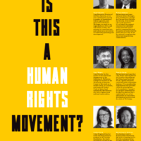 Article Cover Photo: Is this a human rights movement?