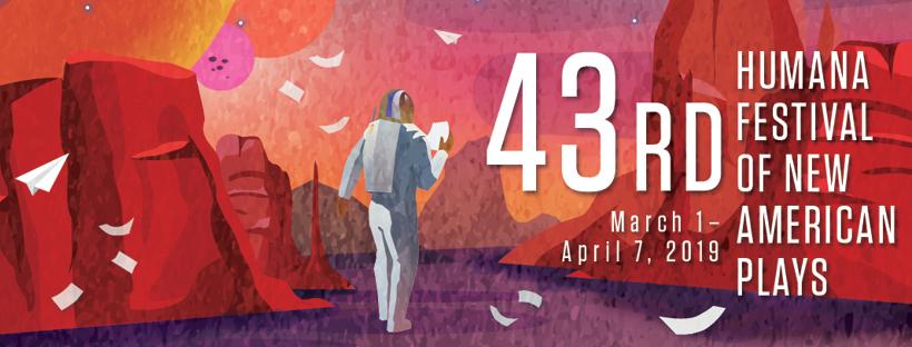 Banner for 43rd Humana Festival