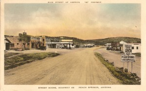 Peach Springs postcard