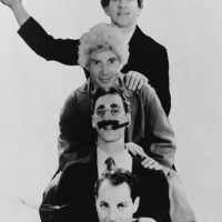 On Stage with the Marx Bros