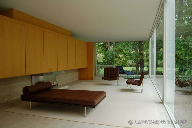 CultureGrrl Flood Damaged Farnsworth House Reopens For Tours To