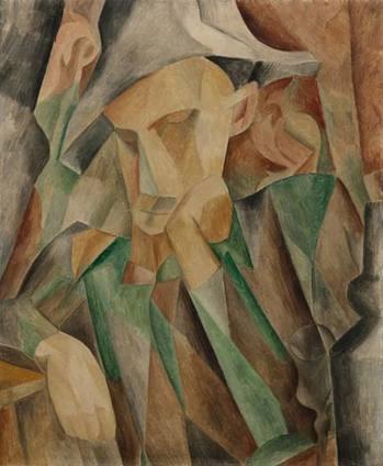 picasso cubism portrait. Cubist Picasso painting of