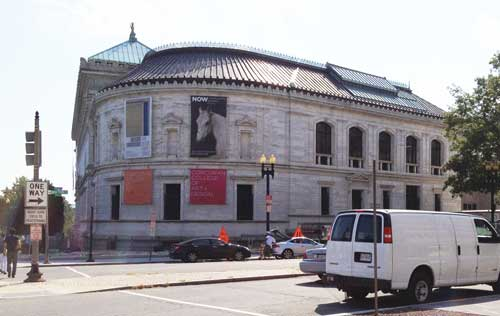 Corcoran Gallery of Art Photo by Lee Rosenbaum