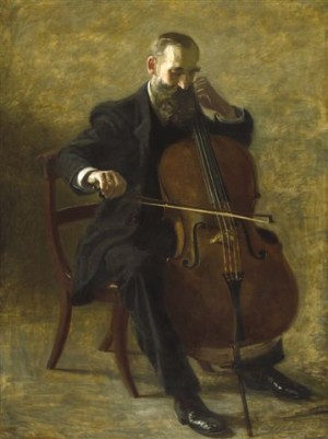 "Thomas Eakins, ""The Cello Player,"""