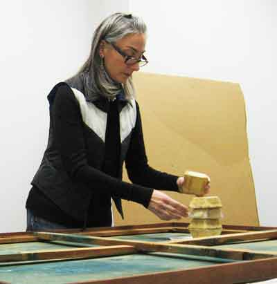 Independent NYC conservator Leonora Paglia