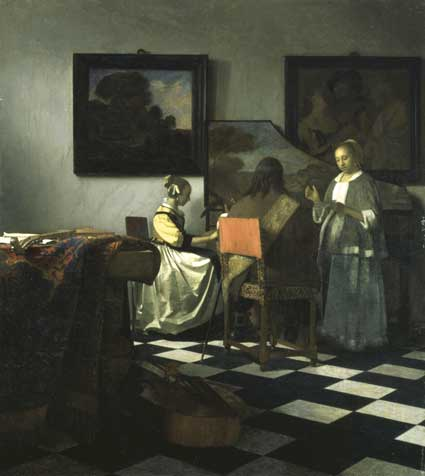 "Wanted: Vermeer, ""The Concert,"" 1658–1660  Isabella's first major acquisition"