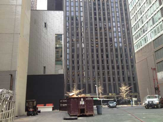 Building site for the MoMA Monster Photo by Lee Rosenbaum