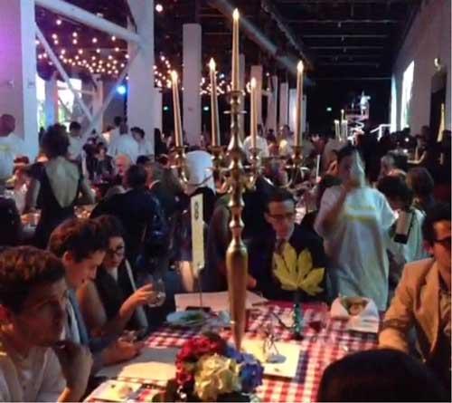 Dinner at MOCA