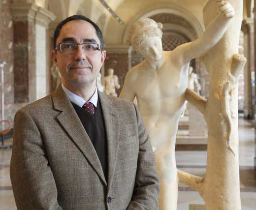Jean-Luc Martinez, new head of the Louvre, effective Apr. 15
