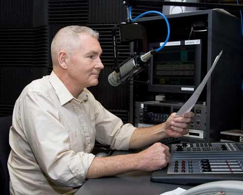 "Steve Potter, host of St. Louis Public Radio's (KWMU's) ""CityScape"""