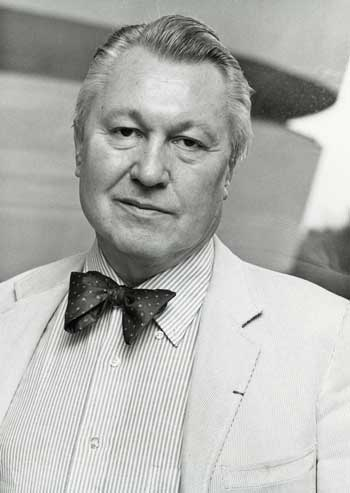 Thomas Messer, Guggenheim Director from 1961 to 1988 Photo: ©The Solomon R. Guggenheim Foundation