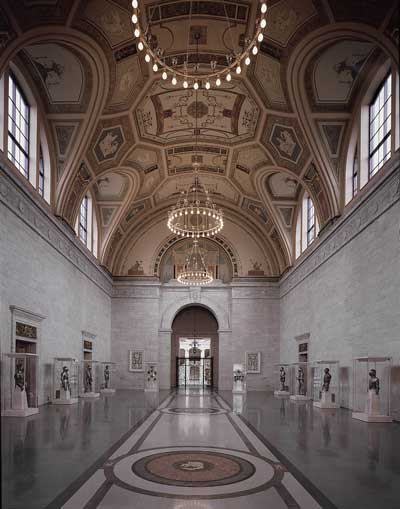 The Great Hall of the Detroit Institute of Art