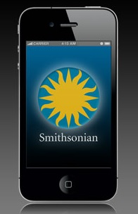 Tomorrow, a smartphone app may become the way to visit the Smithsonian