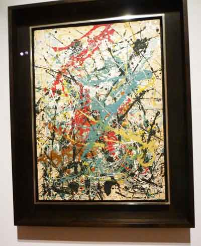 "Jackson Pollock, ""Number 16, 1949"""