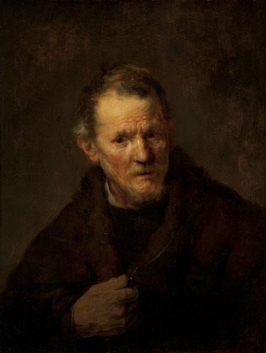 "Rembrandt, ""Saint Bartholomew,"" ca. 1633, Worcester Art Museum"