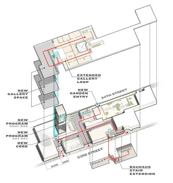 Contrarian musings why folk art museum s building should for Traditions of america floor plans