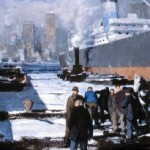 "George Bellows, ""Men of the Docks,"" 1912"