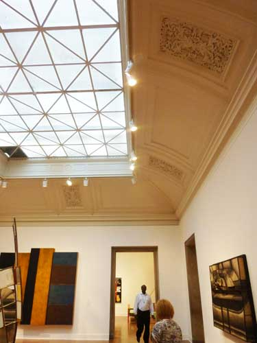 2012 installation of Corcoran's contemporary art collection Photo by Lee Rosenbaum