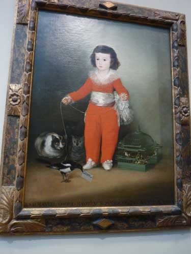 "Goya, ""Manuel Osorio Manrique de Zuñiga,"" 1787–88 Photo by Lee Rosenbaum"
