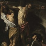 "Caravaggio, ""The Crucifixion of Saint Andrew,"" 1606-1607, Cleveland Museum of Art"