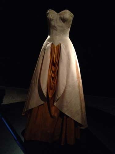 Charles James, Ball Gown, 1948, Brooklyn Museum Costume Collection at the Metropolitan Museum Photo by Lee Rosenbaum
