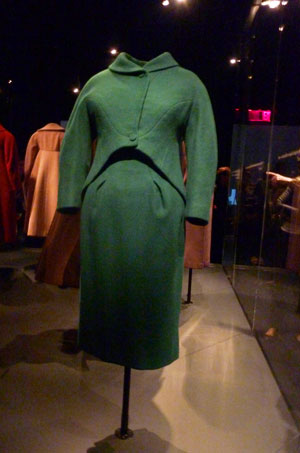 Charles James suit, 1961-61, gift to the Met by Lee Krasner Pollock Photo by Lee Rosenbaum