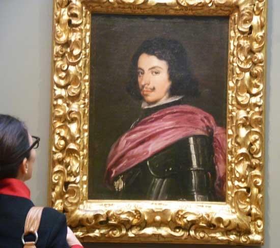 """Velázquez, """"Duke Francesco I d'Este,"""" 1638 Galleria Estense, Modena © su concessione del Ministero per i Beni e le Attività Culturali Photo by Lee Rosenbaum"""