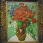 "van Gogh, ""Vase aux Marguerites et Coquelicots, 1890 Presale estimate: $30-50 million Photo by Lee Rosenbaum"