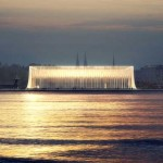 Most photogenic rendering of six finalists' designs for Guggenheim Helsinki