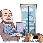 Andrew Sullivan's blogging avatar