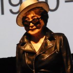 Yoko Ono at MoMA press preview Photo by Lee Rosenbaum